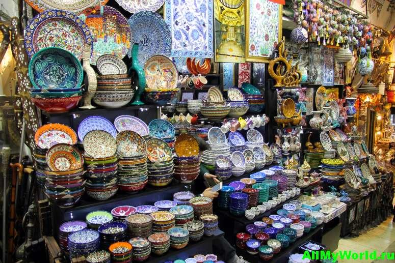 Достопримечательности Стамбула - Гранд-базар