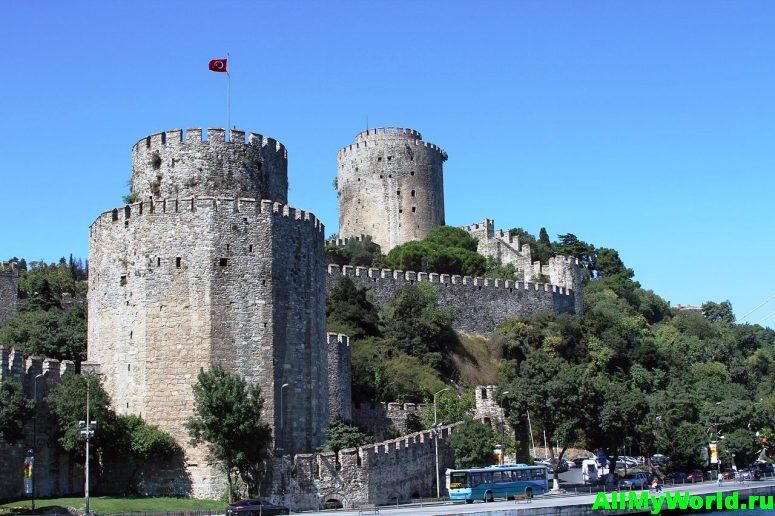 Достопримечательности Стамбула - крепость Румели-хисары