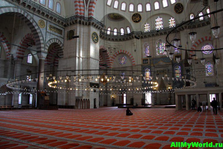 Достопримечательности Стамбула - мечеть Сулеймание