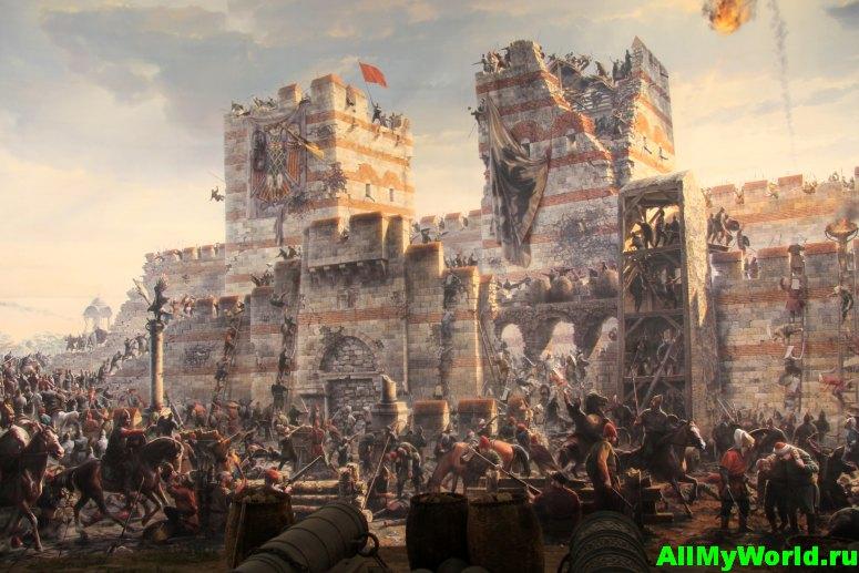 Достопримечательности Стамбула - Панорама 1453 года