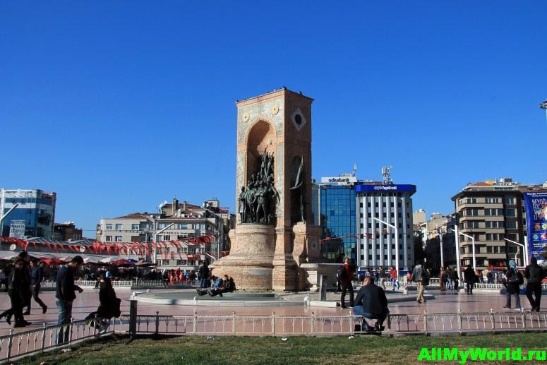 Достопримечательности Стамбула - площадь Таксим