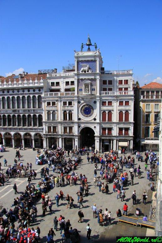 Достопримечательности Венеции: часовая башня Сан-Марко