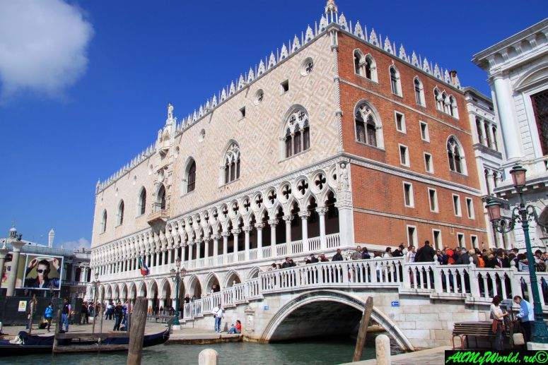 Достопримечательности Венеции: Дворец дожей