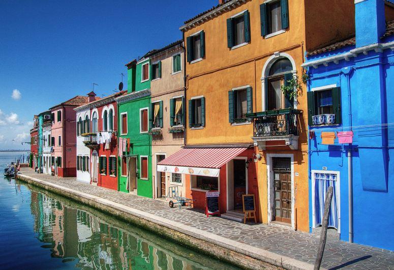 Достопримечательности Венеции: остров Бурано