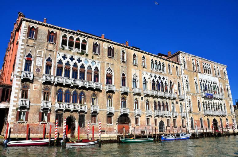 Достопримечательности Венеции: палаццо Фоскари
