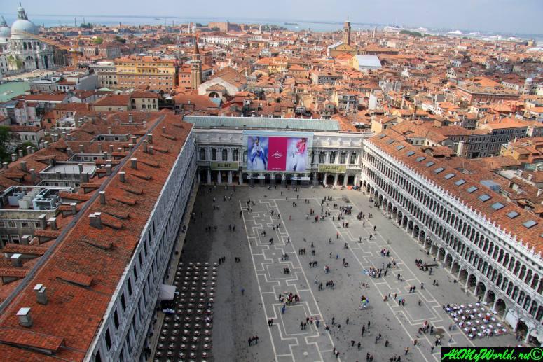 Достопримечательности Венеции: площадь Сан-Марко