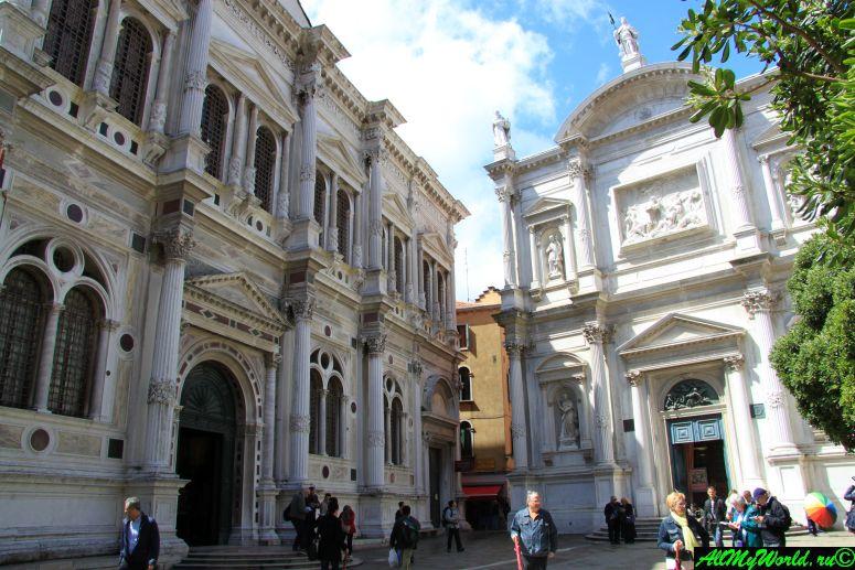 Достопримечательности Венеции: скуола Сан-Рокко