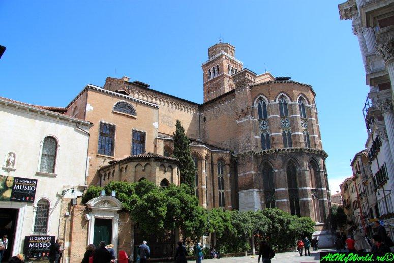 Достопримечательности Венеции: собор Санта-Мария-Глориоза-деи-Фрари