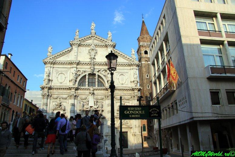 Достопримечательности Венеции: церковь Сан-Моизе