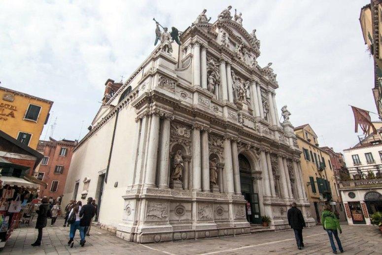 Достопримечательности Венеции: церковь Санта-Мария-дель-Джильо