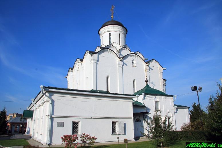 Достопримечательности Владимира - Успенский Княгинин монастырь
