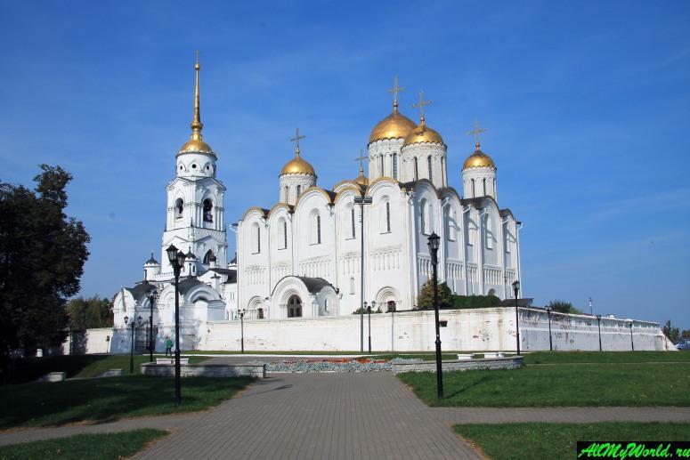 Достопримечательности Владимира - Свято-Успенский кафедральный собор