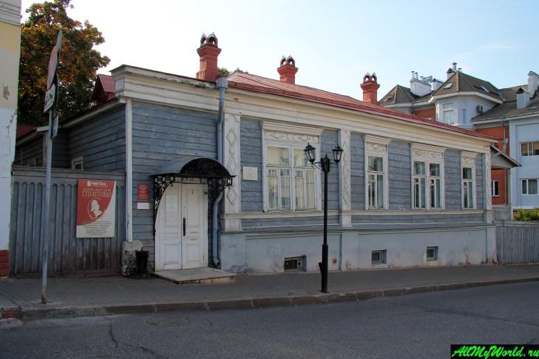 Достопримечательности Владимира - дом-музей братьев Столетовых