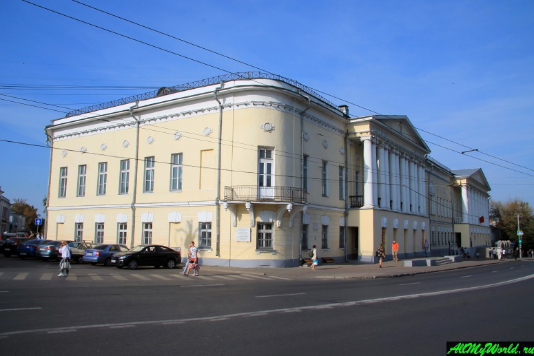 Достопримечательности Владимира - Дворянское собрание