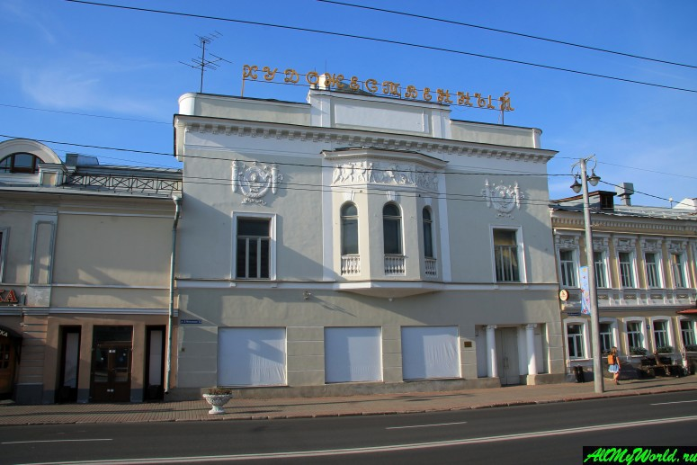 "Достопримечательности Владимира - электротеатр ""Ампир"""