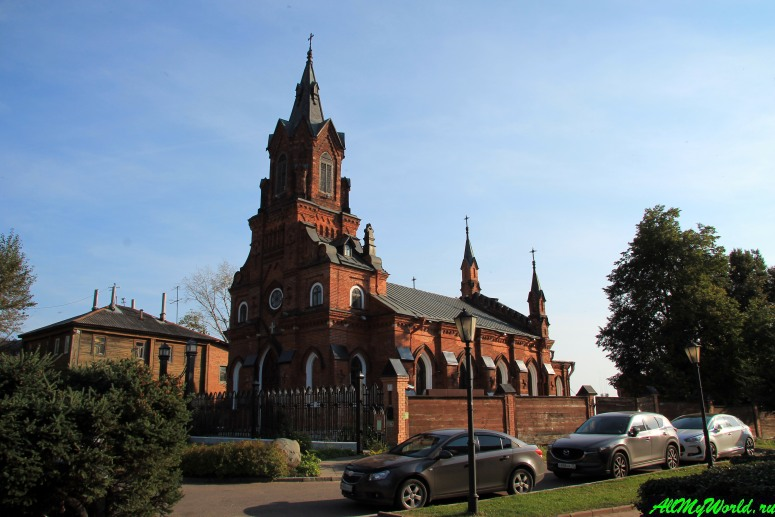 Достопримечательности Владимира - храм Святого Розария Пресвятой Девы Марии