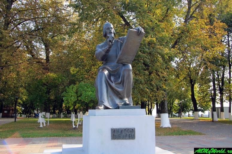 Достопримечательности Владимира - памятник Андрею Рублеву