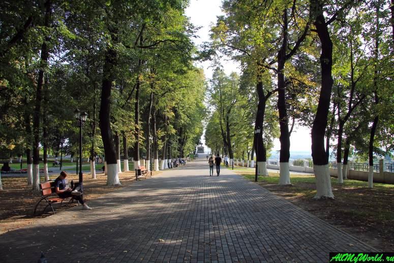 Достопримечательности Владимира - парк имени Пушкина