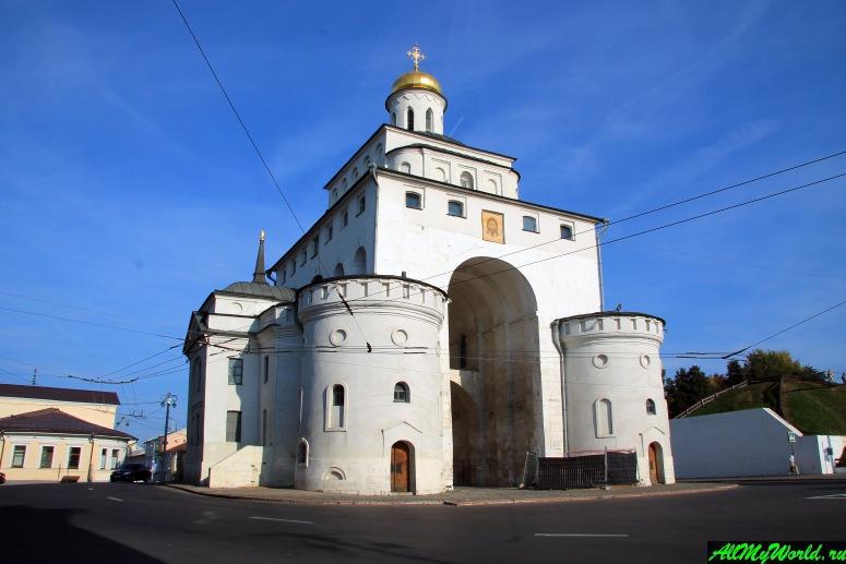 Достопримечательности Владимира - Золотые ворота