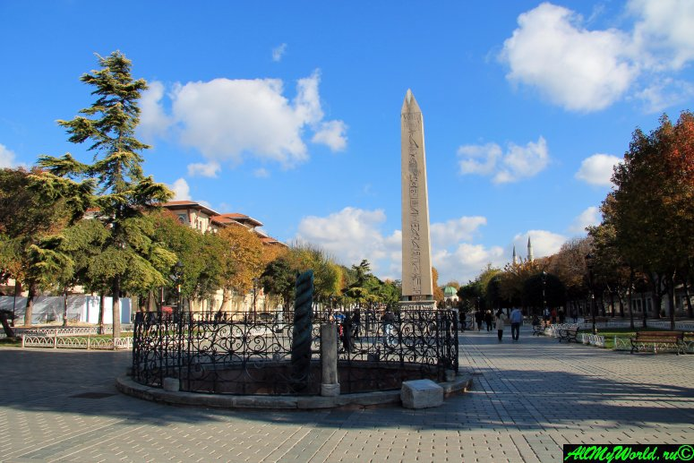 Стамбул, площадь Султанахмет