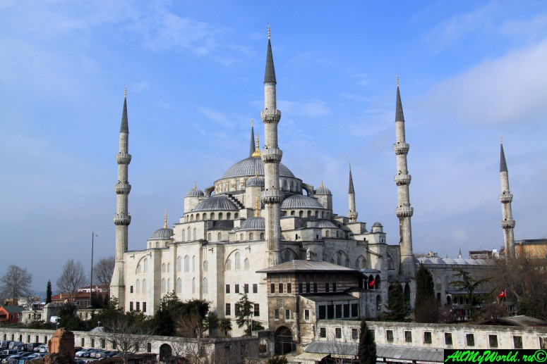 Стамбул, площадь Султанахмет: Голубая мечеть