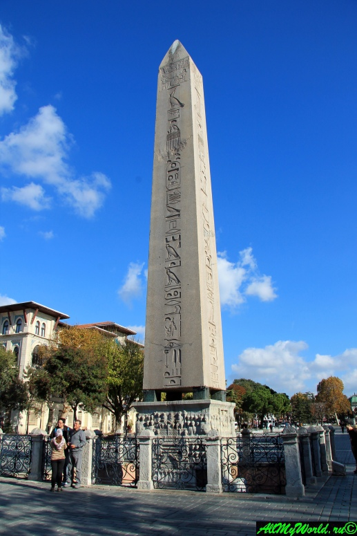 Стамбул, площадь Султанахмет: Египетский обелиск