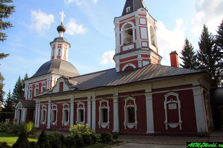 Достопримечательности Сергиева-Посада: Ильинская церковь