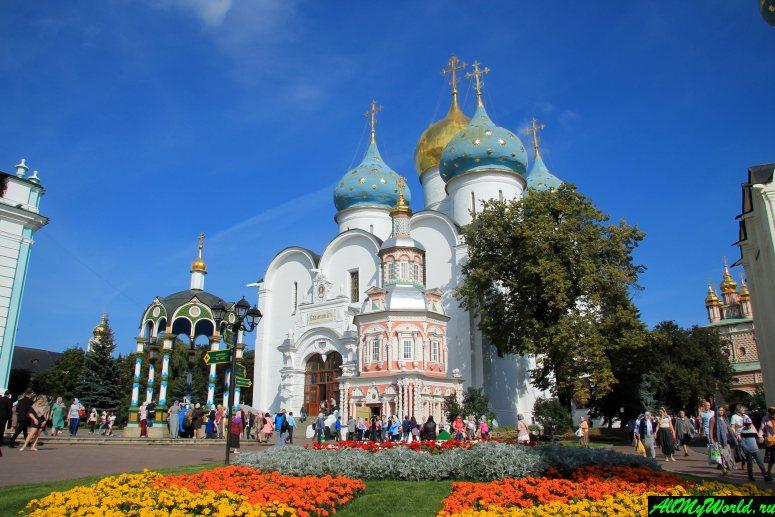 Достопримечательности Сергиева-Посада: Успенский собор