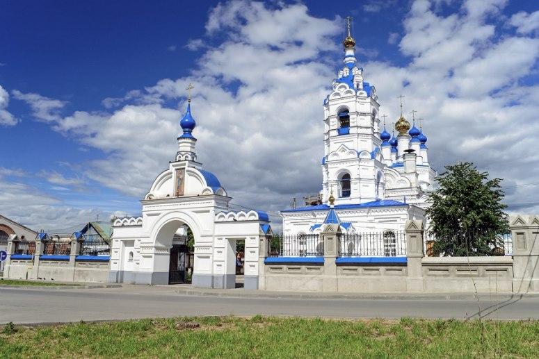 Достопримечательности города Иваново: Преображенский кафедральный собор