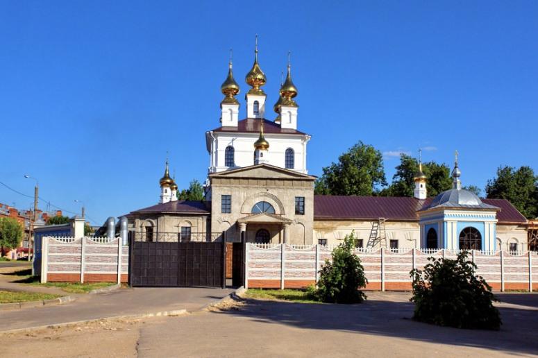 Достопримечательности города Иваново: Свято-Успенский монастырь