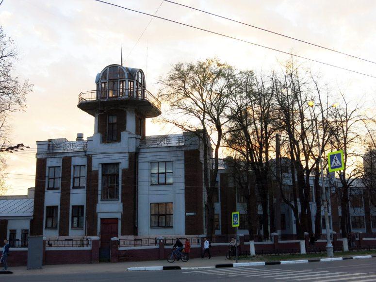 Достопримечательности города Иваново: Дом-птица