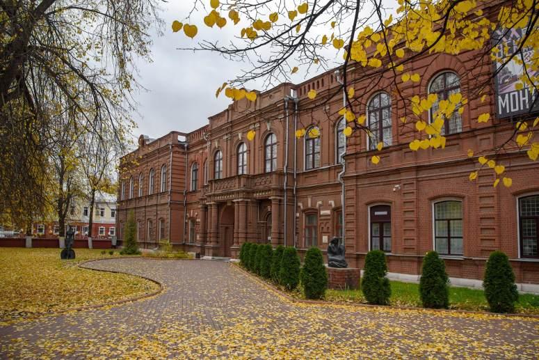 Достопримечательности города Иваново: Ивановский областной художественный музей