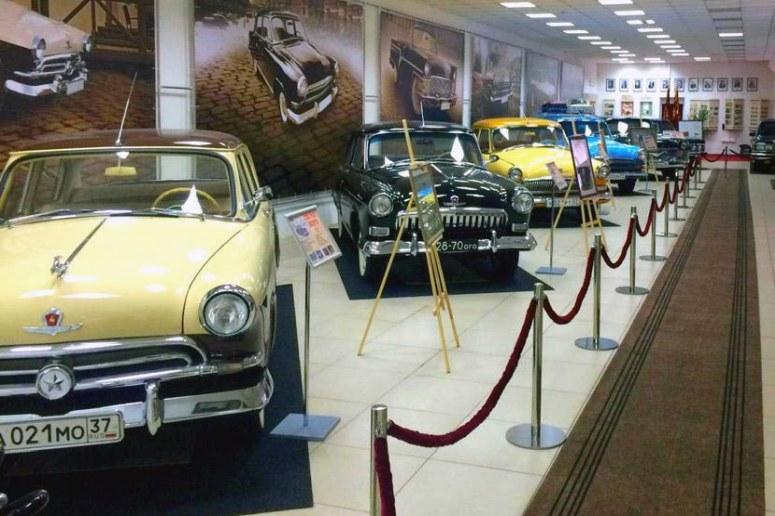 Достопримечательности города Иваново: Музей советского автопрома