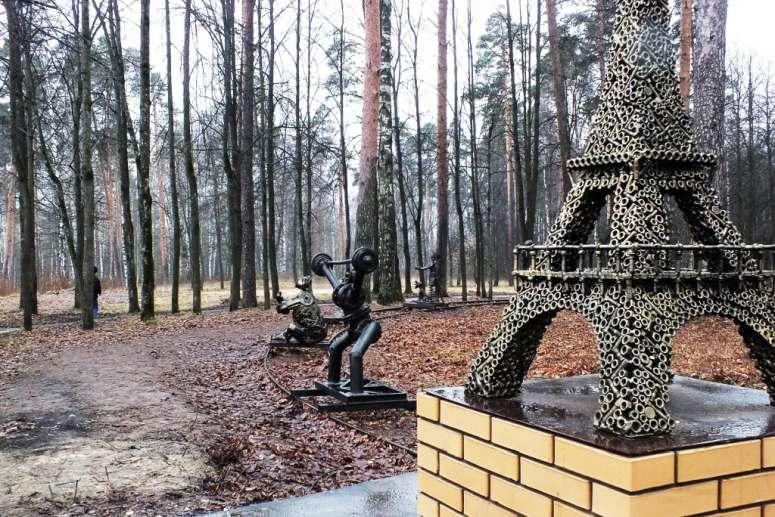 Достопримечательности города Иваново: Парк культуры и отдыха имени В.Я. Степанова