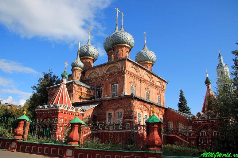 Достопримечательности Костромы: Церковь Воскресения Христова на Дебре