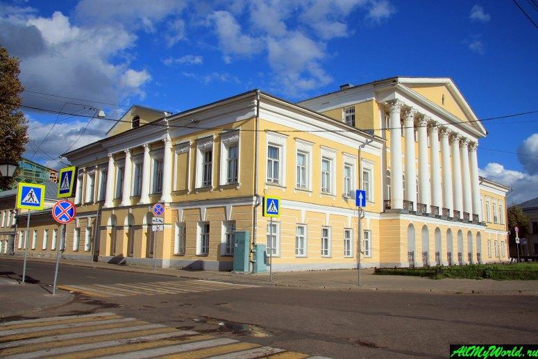 Достопримечательности Костромы: Дом Борщова