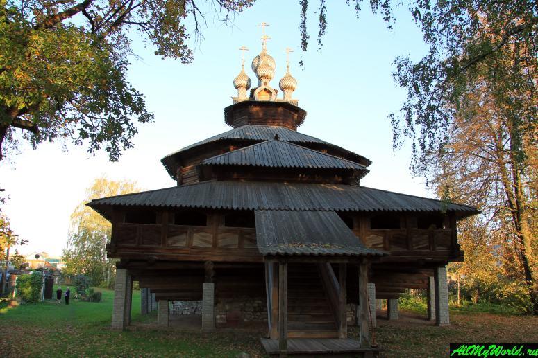 Достопримечательности Костромы: Церковь Собора Пресвятой Богородицы из села Холм