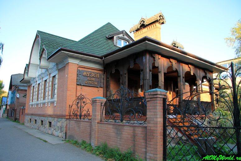 Достопримечательности Костромы: Музей-усадьба льна и бересты