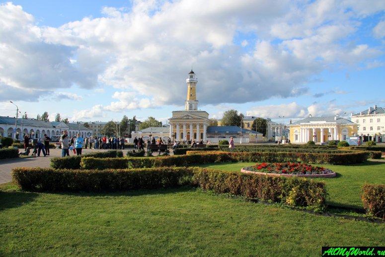 Достопримечательности Костромы: Сусанинская площадь