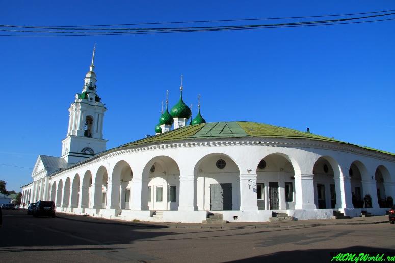 Достопримечательности Костромы: Торговые ряды