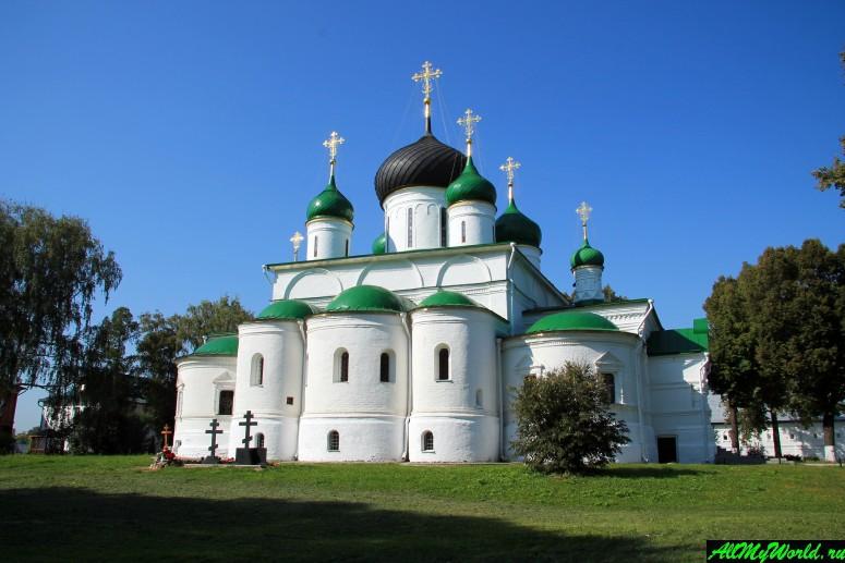 Достопримечательности Переславля-Залесского: Феодоровский монастырь