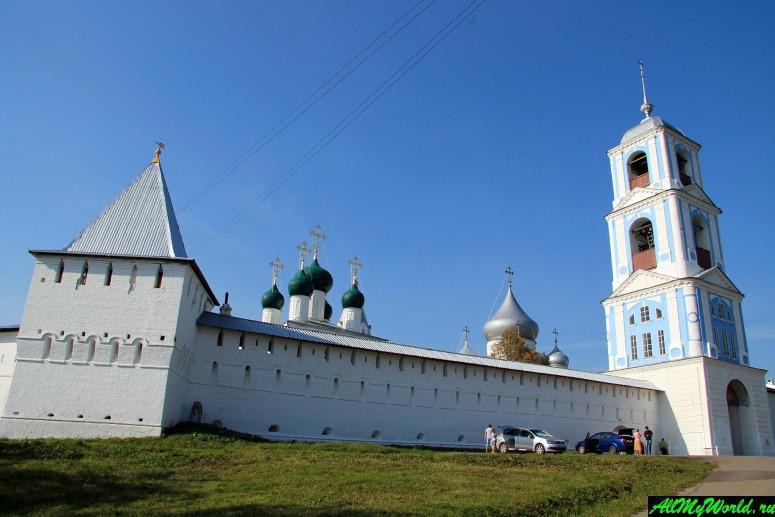 Достопримечательности Переславля-Залесского: Никитский монастырь