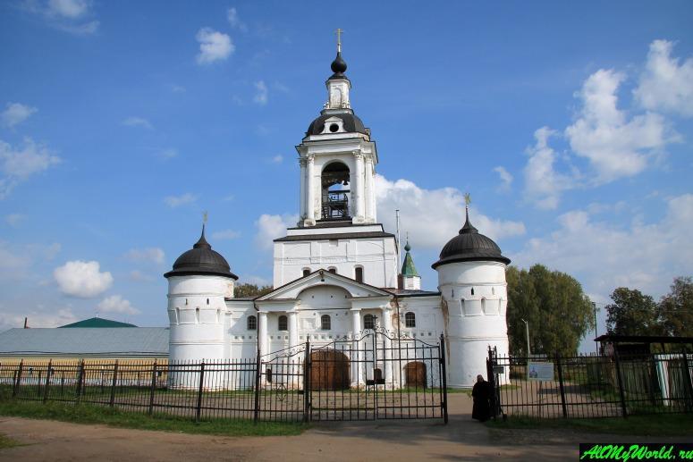 Достопримечательности Ростова Великого: Богоявленский Авраамиев монастырь