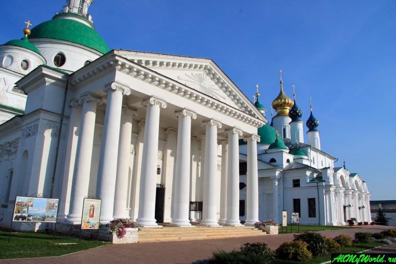 Достопримечательности Ростова Великого: Спасо-Яковлевский Дмитриев монастырь