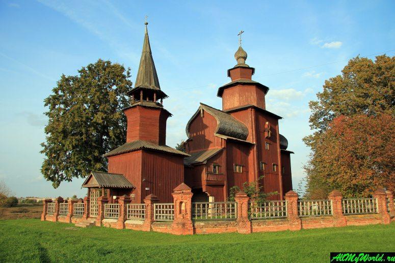 Достопримечательности Ростова Великого: церковь Иоанна Богослова на Ишне
