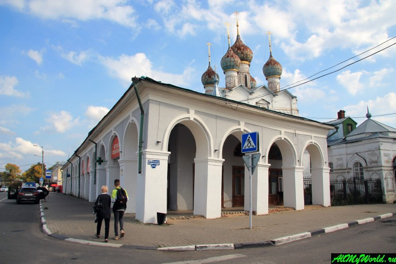 Достопримечательности Ростова Великого: Торговые ряды