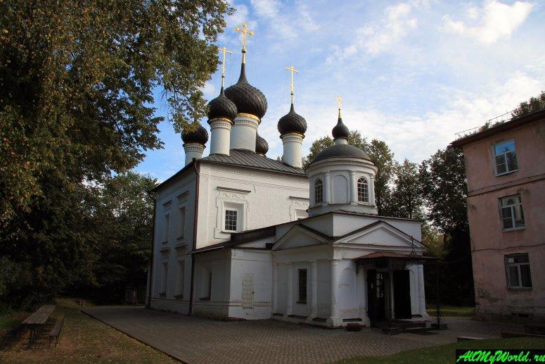 Достопримечательности Рыбинска: Церковь Казанской Иконы Божией Матери