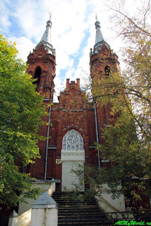 Достопримечательности Рыбинска: Костёл Святейшего Сердца Иисуса