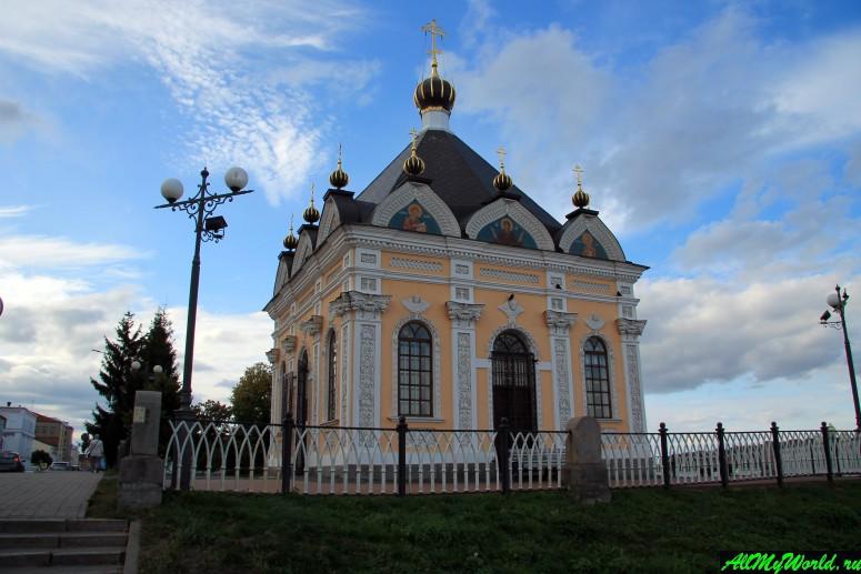Достопримечательности Рыбинска: Часовня Николая Чудотворца