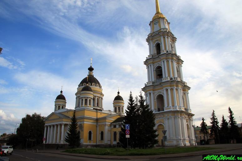Достопримечательности Рыбинска: Спасо-Преображенский собор